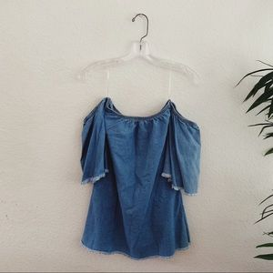 GoJane Dresses - Chambray mini dress